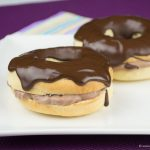Donuts mit Kaffeecreme