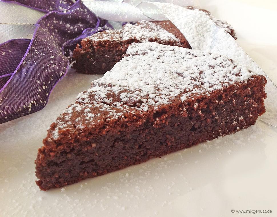 Schokoladenkuchen Mixgenuss Blog