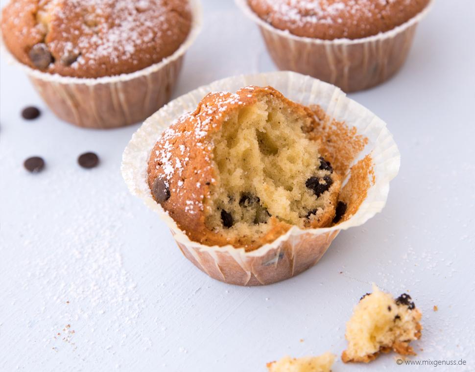 Schokotropfen-Muffins