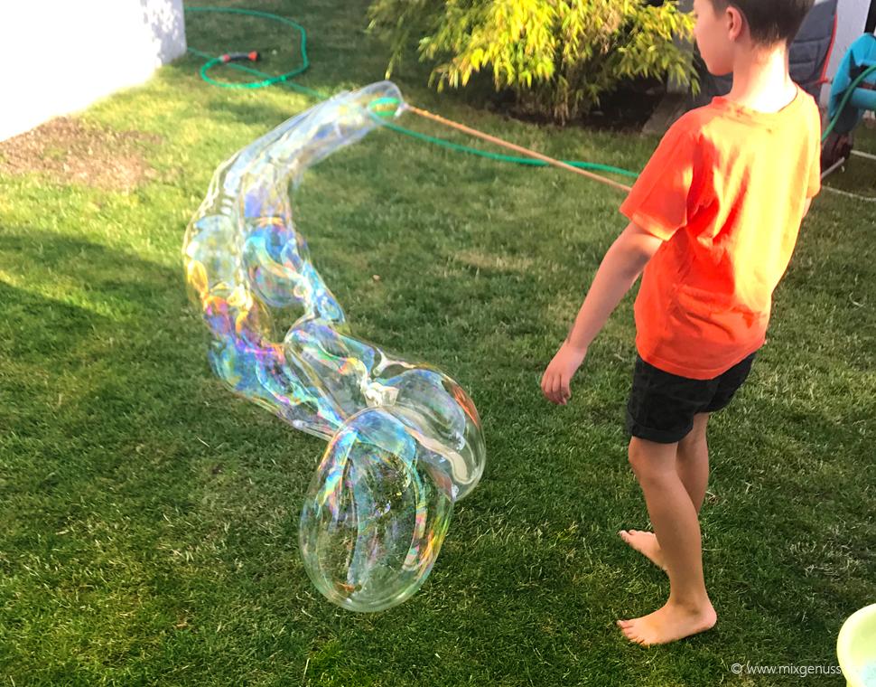 Getestet: Seifenblasen-Konzentrat aus dem Thermomix