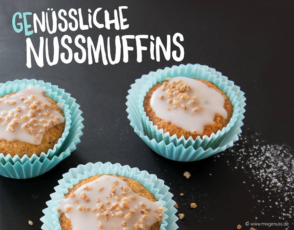 Die saftigsten Nussmuffins ever!