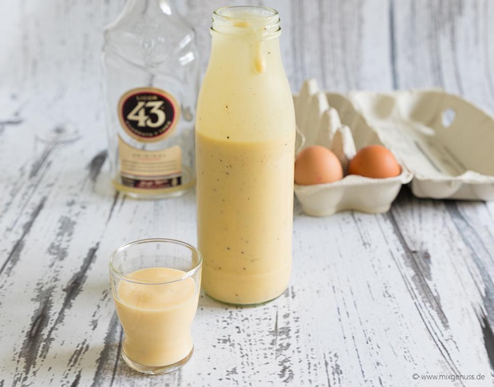 😍Der beste Eierlikör der WELT!!! 43er Eierlikör – eine süße ...