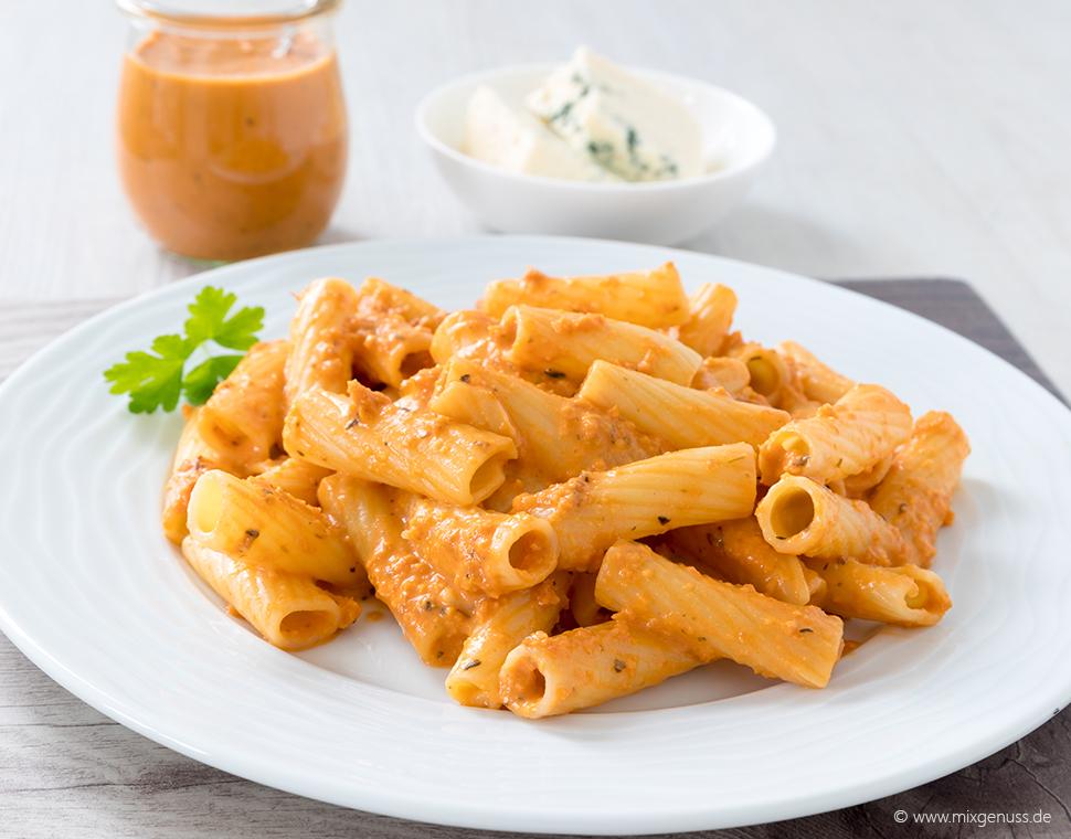 Sauce Parmarosa für 250 g Pasta