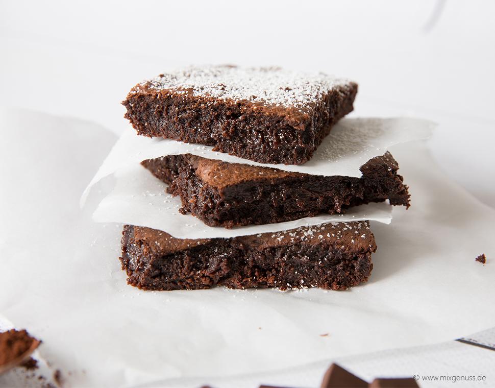 Brownies mit softem Kern