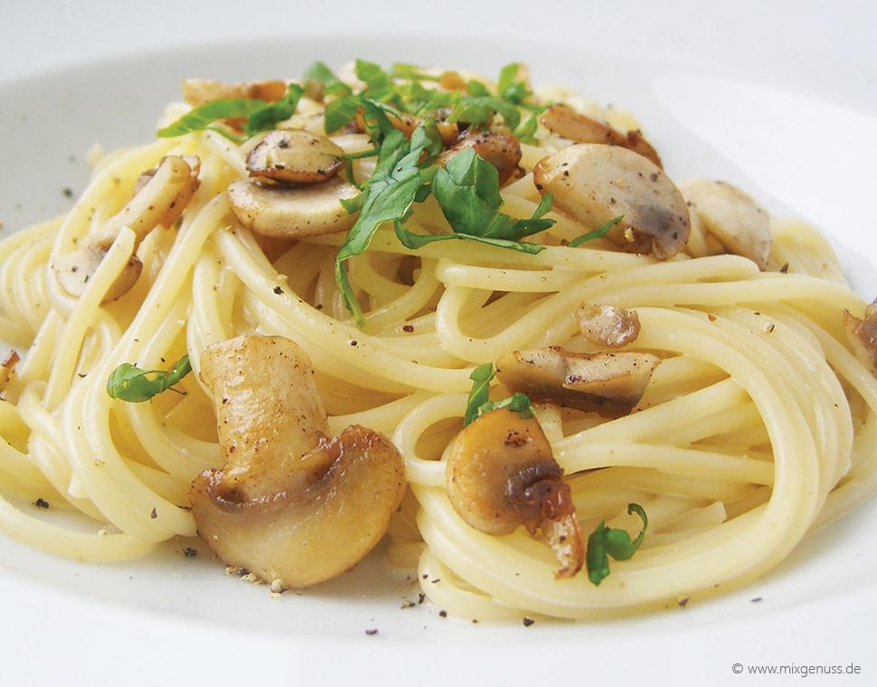 Gorgonzola-Pilz-Soße