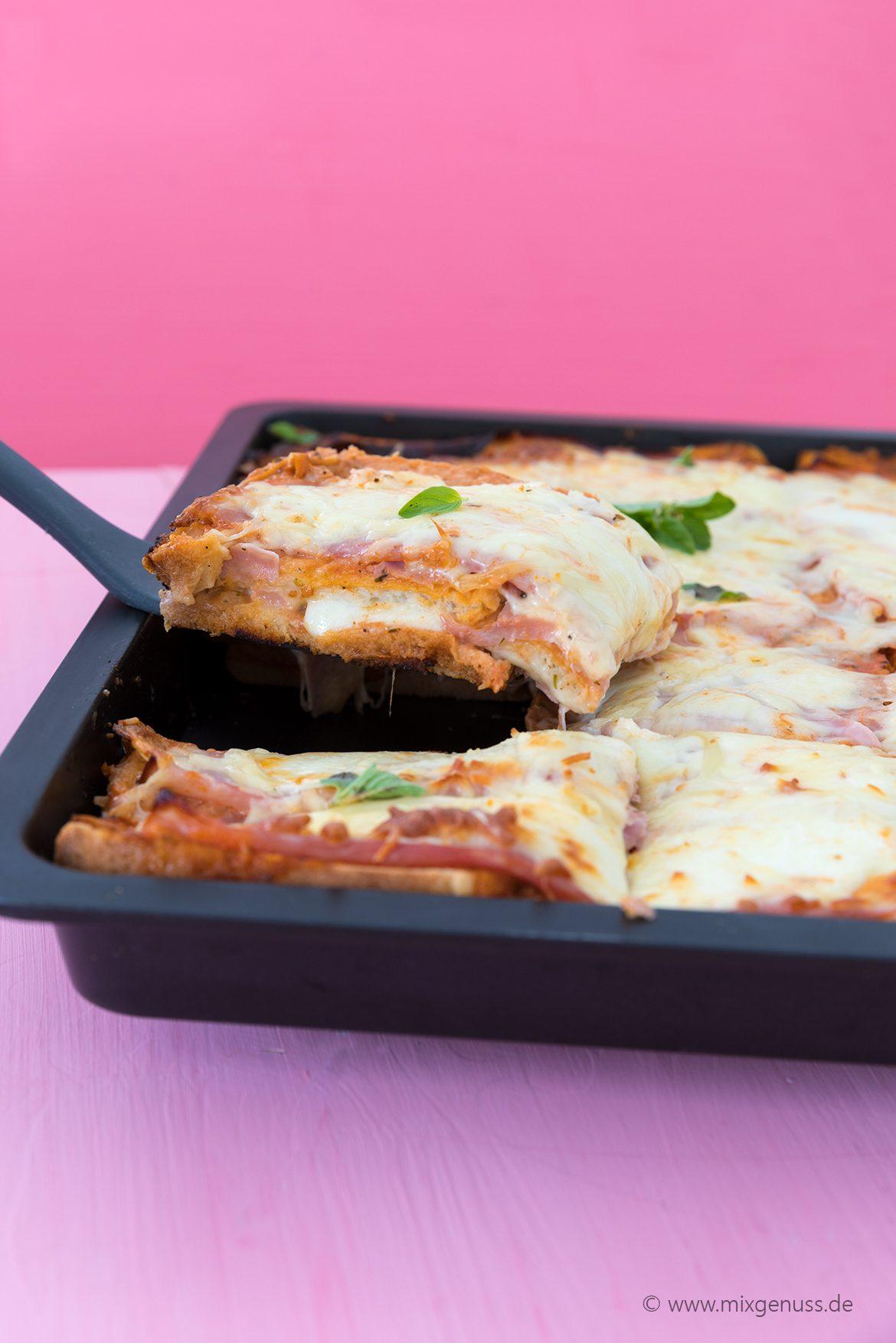 Toast-Lasagne