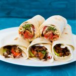Sommerliches Wrap-Special #3: Lachs Wrap