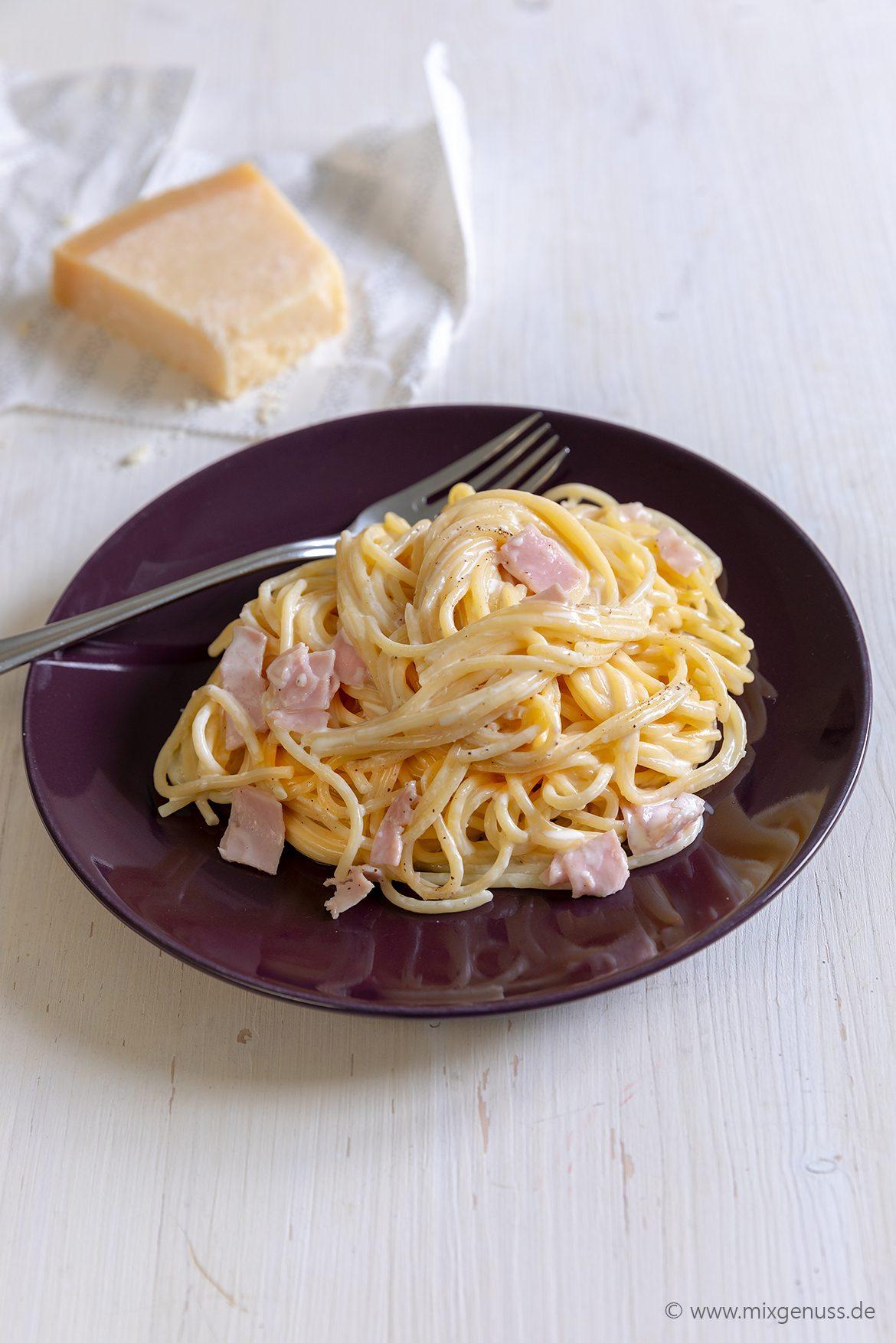 Spaghetti alla panna