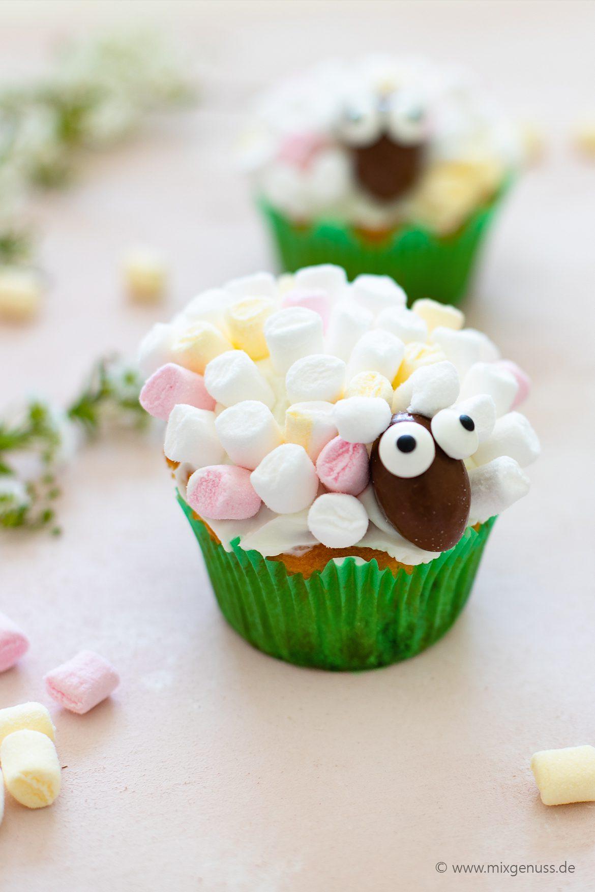 Niedliche Ostercupcakes
