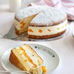 Klassische Käse-Sahne-Torte