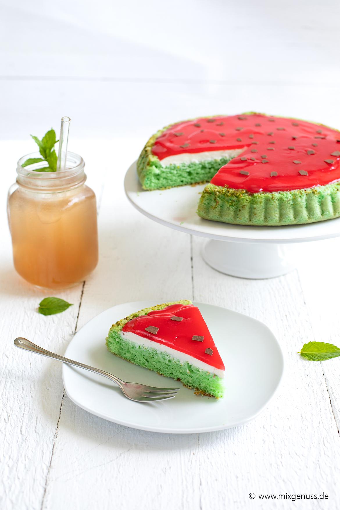 Melonenkuchen