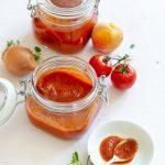 Pfirsich-Tomaten-Ketchup