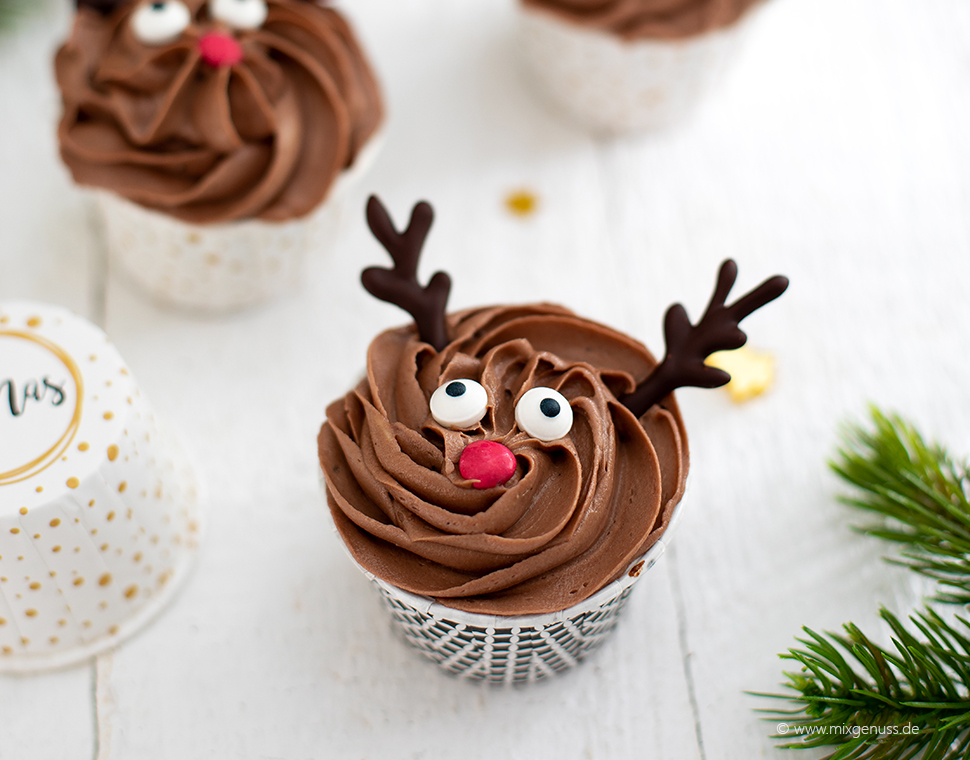 Rentier Cupcakes