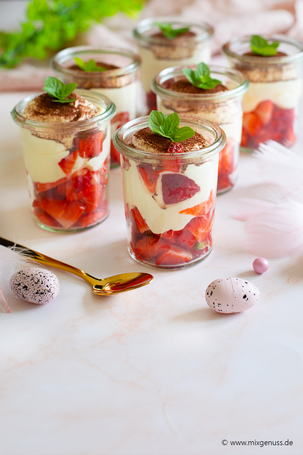 Oster-Dessertidee