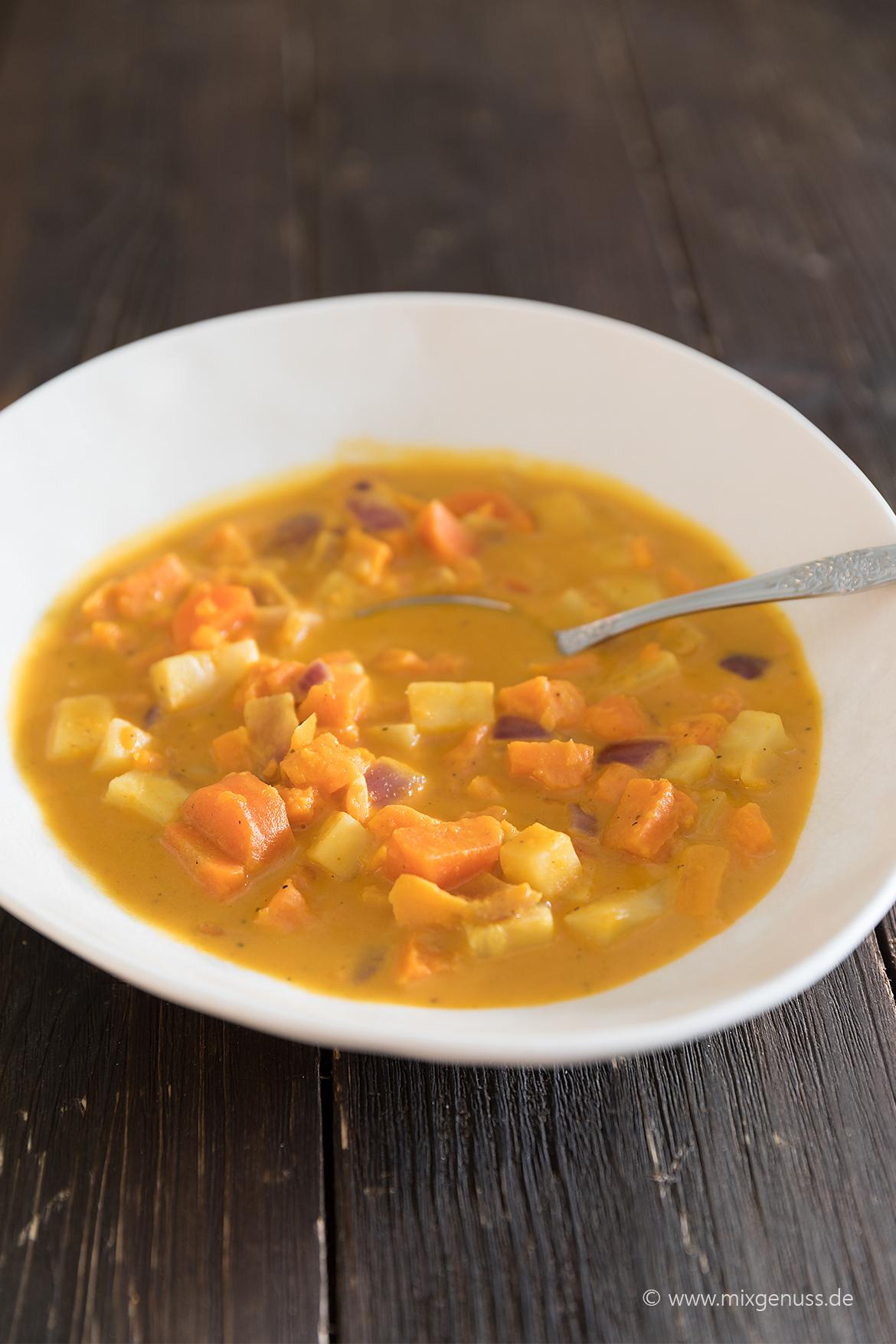 Süßkartoffel-Gemüsetopf