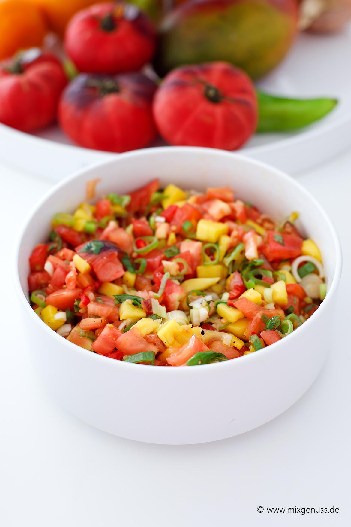 Tomaten-Mango-Salsa